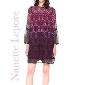 Nanette Lepore Fuchsia Kiss Multi Moody Romance